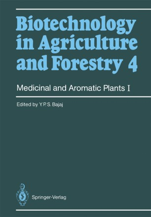 Medicinal and Aromatic Plants I