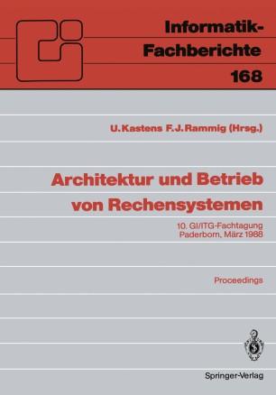 Architektur und Betrieb von Rechensystemen