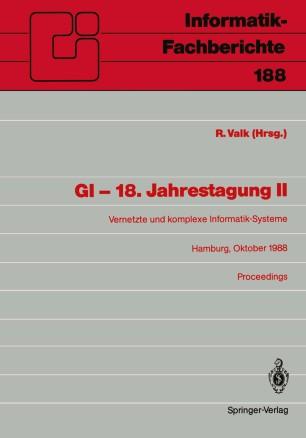 GI — 18. Jahrestagung II