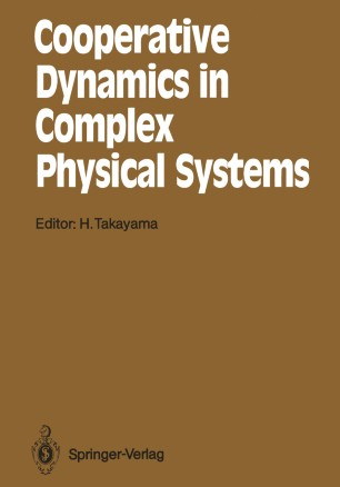Complex Hamiltonian Dynamics: 10 (Springer Series in Synergetics)