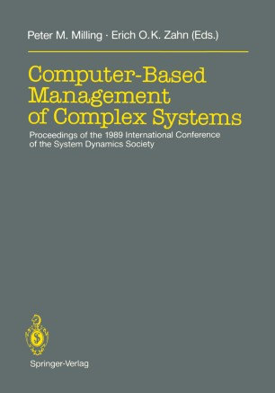 Computer-Based Management of Complex Systems