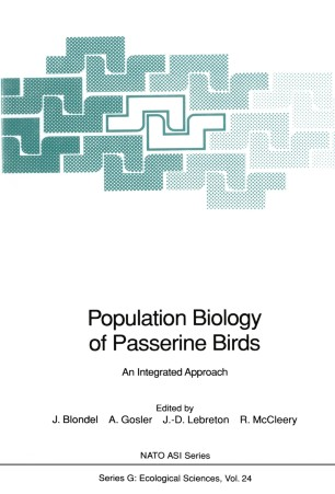 Population Biology of Passerine Birds