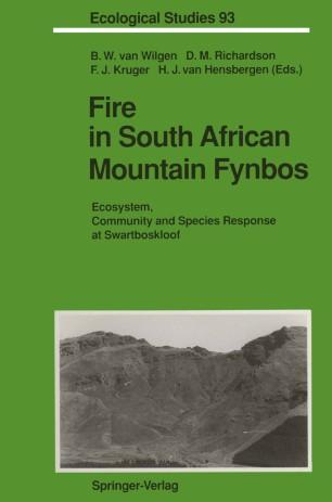 Fire in South African Mountain Fynbos