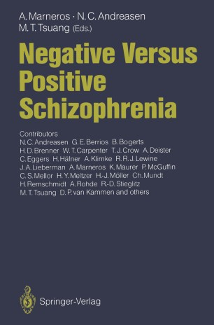 NS in schizophrenia: history of definitions and nosographical relevance