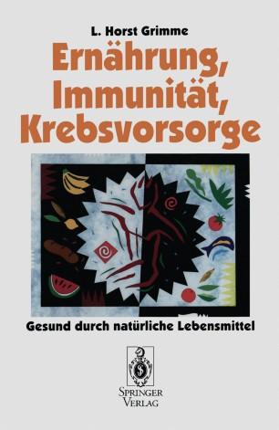 Ernährung, Immunität, Krebsvorsorge
