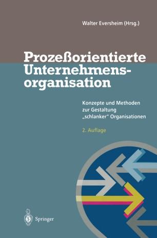 Prozeßorientierte Unternehmensorganisation