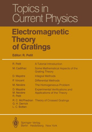 Electromagnetic Theory of Gratings | SpringerLink
