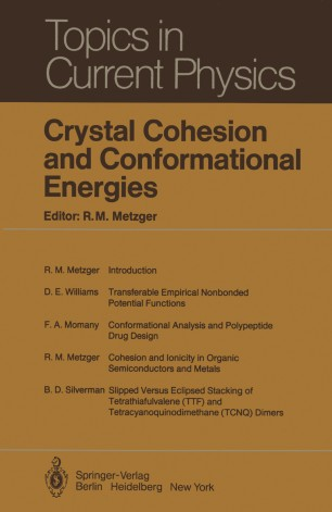 Crystal Cohesion and Conformational Energies | SpringerLink