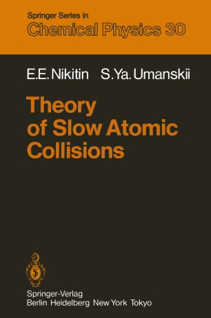 Theory of Slow Atomic Collisions