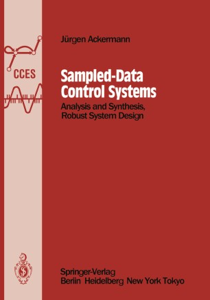 Sampled Data Control Systems Springerlink