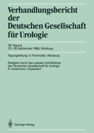 38. Tagung, 23.–28. September 1986, Würzburg