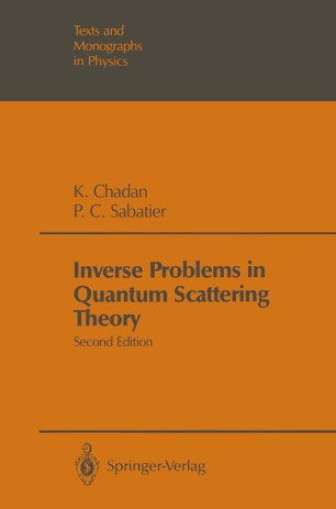 Inverse Problems in Quantum Scattering Theory