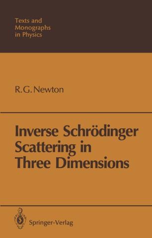 Inverse Schrödinger Scattering in Three Dimensions
