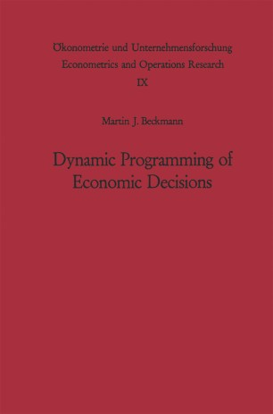 Dynamic Programming of Economic Decisions