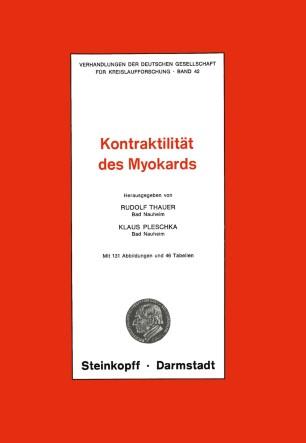 Thema: Kontraktilität des Myokards