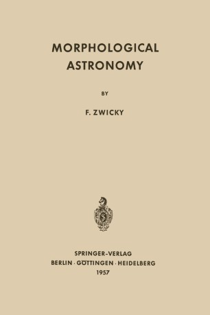 Morphological Astronomy