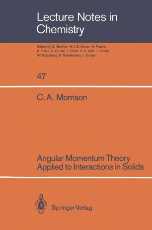 Angular Momentum Theory Applied to Interactions in Solids