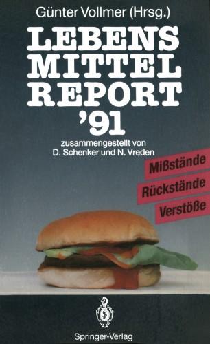 Lebensmittelreport '91