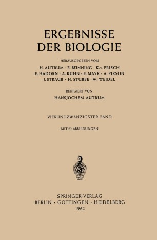 Ergebnisse der Biologie