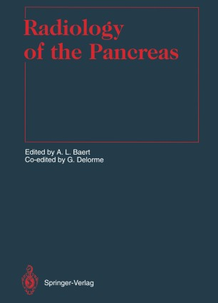 Radiology of the Pancreas