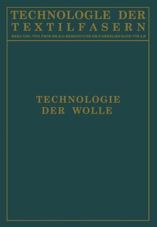 Technologie der Wolle