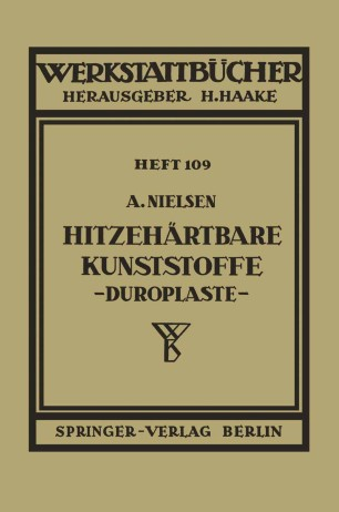 Hitzehärtbare Kunststoffe (Duroplaste)