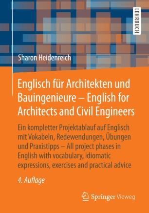 Englisch Fur Architekten Und Bauingenieure English For Architects And Civil Engineers Springerlink