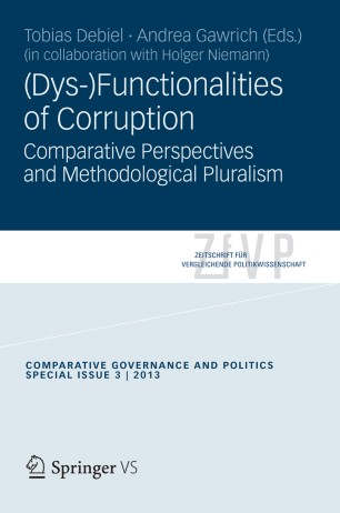 (Dys-)Functionalities of Corruption