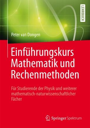 Einführungskurs Mathematik und Rechenmethoden