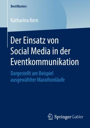 Der Einsatz von Social Media in der Eventkommunikation