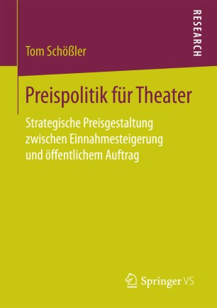 Preispolitik für Theater