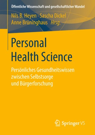 Personal Health Science 2019 978-3-658-16428-7