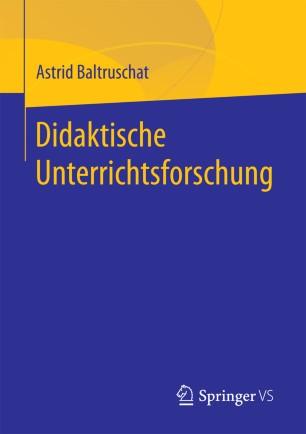 Didaktische Unterrichtsforschung
