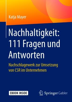 Nachhaltigkeit: 111 Fragen und Antworten