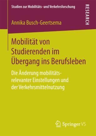 Mobilität von Studierenden im Übergang ins Berufsleben