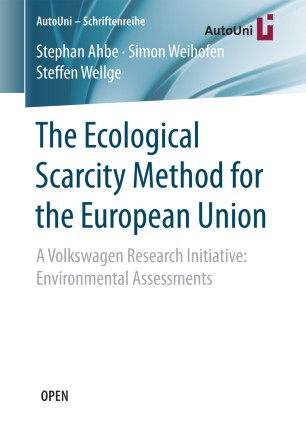 The Ecological Scarcity Method for the European Union