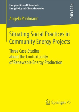Situating Social Practices in Community Energy Projects