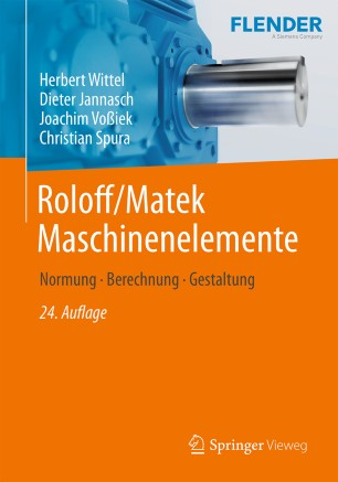 Front cover of Roloff/Matek Maschinenelemente
