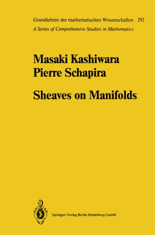 kashiwara schapira sheaves on manifolds pdf