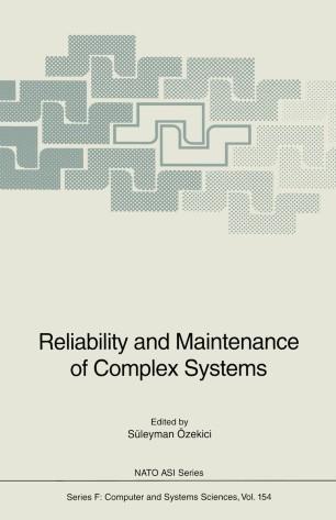 foto de Reliability and Maintenance of Complex Systems | SpringerLink