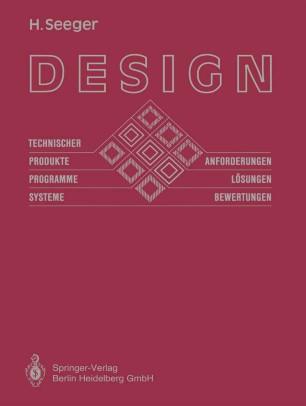 Design technischer Produkte, Programme und Systeme