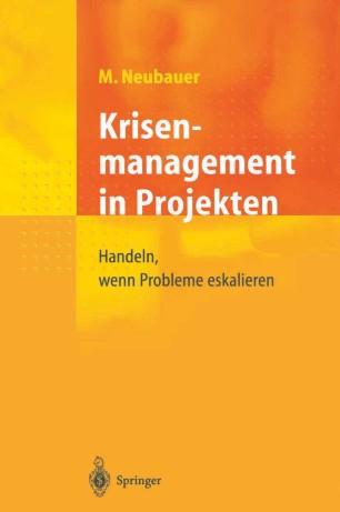 Krisenmanagement in Projekten