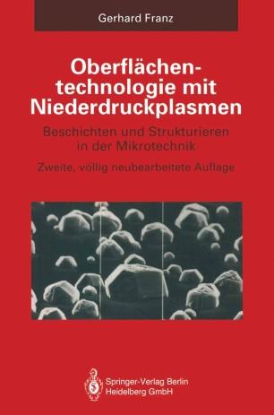 Oberflächentechnologie mit Niederdruckplasmen