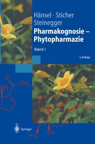 Pharmakognosie — Phytopharmazie