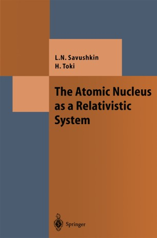 The Atomic Nucleus as a Relativistic System