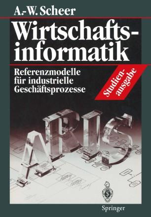Wirtschaftsinformatik Studienausgabe