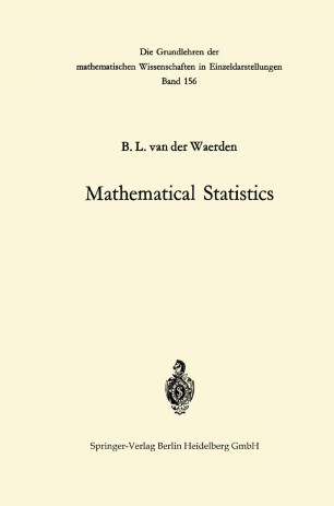 Mathematical Statistics | SpringerLink