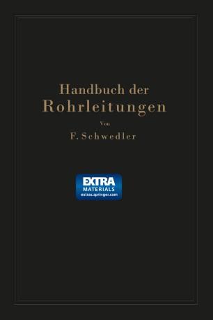 Handbuch der Rohrleitungen