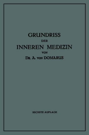 Grundriss der Inneren Medizin