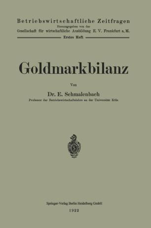Goldmarkbilanz